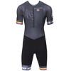 Bioracer Van Vlaanderen triathlon kleding Heren grijs/zwart